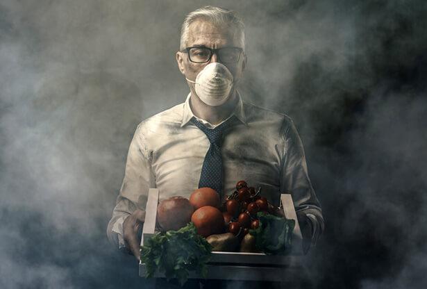 contamination alimentaire pesticides produits cancérigènes