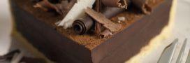 Tarte au chocolat et au thé, facile et rapide