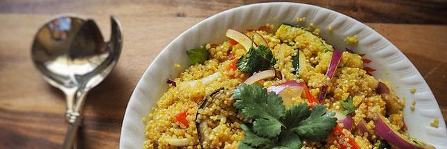 Recette bio : quinoa et agrumes en salade
