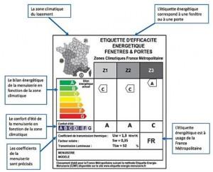 joints calfeutrants, isolation de la maison, étiquette énergie