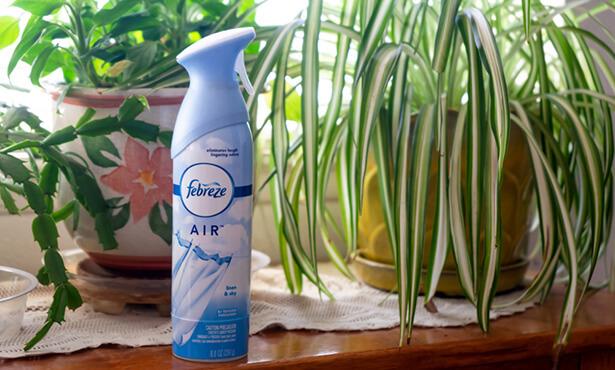 febreze textile, nettoyer canapé tissu odeur
