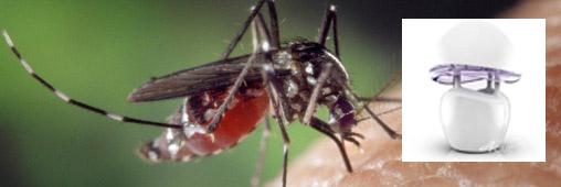 La lampe qui trompe et aspire les moustiques