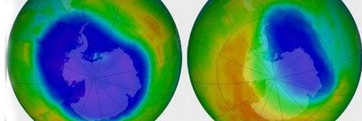 Le trou de la couche d'ozone, phénomène du passé ?