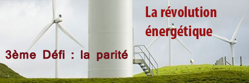 """La """"parité réseau"""", 3ème défi de la révolution énergétique"""