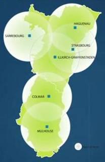 corridor énergétique Alsace