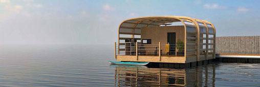 Tourisme : la mode des maisons sur l'eau