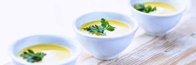 Recette de la soupe aux poireaux et aux coings