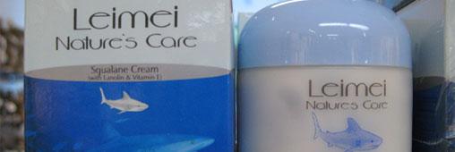 huile foie requin cosmetique