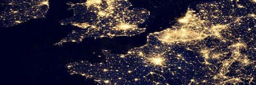 Des photos satellite de la Terre la nuit