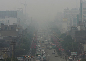 chine pollution