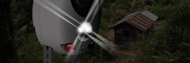 GravityLight, une lampe LED mécanique