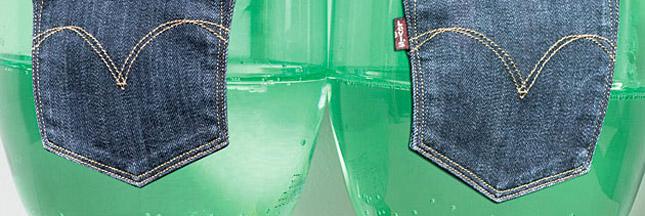 Levis : du plastique dans des jeans