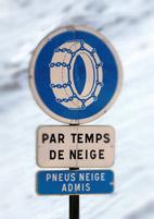 pneus hiver conduite