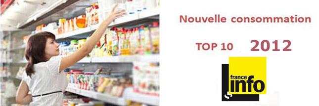 Le palmarès conso 2012 sur France Info