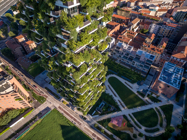 foret verticale milan