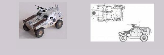 Armée - Le premier blindé léger biodégradable