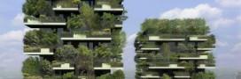 Une forêt verticale à Milan pour purifier l'air