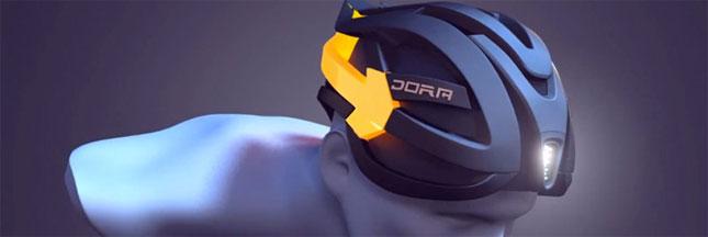 DORA, le casque haute sécurité pour cyclistes
