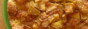 Clafoutis aux pommes sans gluten et sans lait
