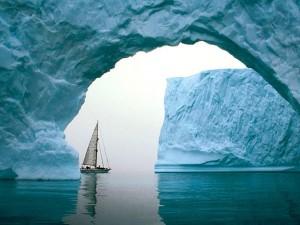 iceberg-voilier