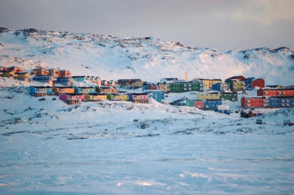 Ilulisat, la 3ème plus grande ville du Groenland avec 5 000 habitants