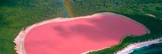 Deux lacs qui font vraiment voir la vie en rose