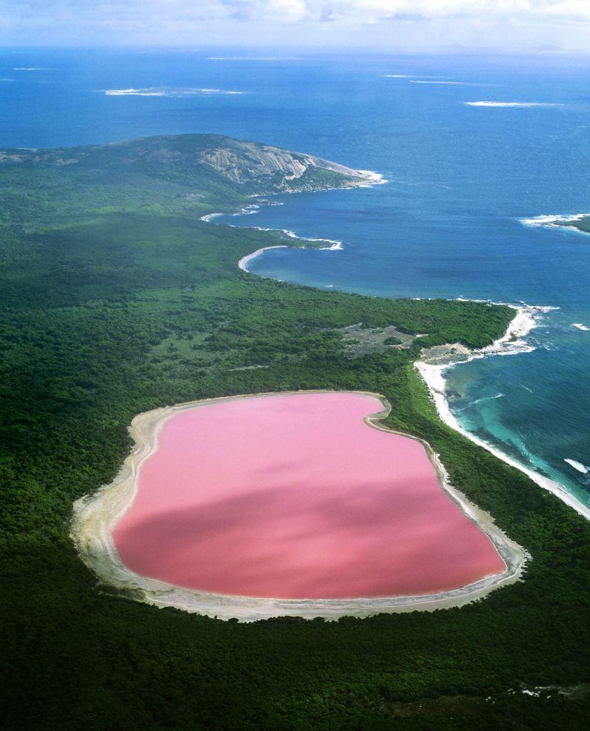 lac-rose-hillier-australie