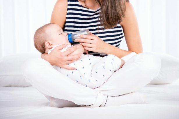 lait de soja, bébés, nourrissons