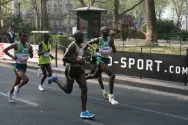 marathon course endurance