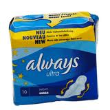 serviettes hygiéniques consommation always
