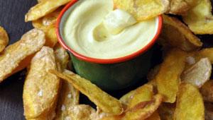 Chips d'épluchures de pommes de terre. Photo: pommesdeterre-caracteres.fr