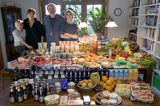 Allemagne: La famille Melander de Bargteheide