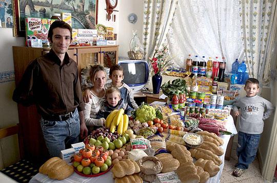 Italie: La famille Manzo de la Sicile