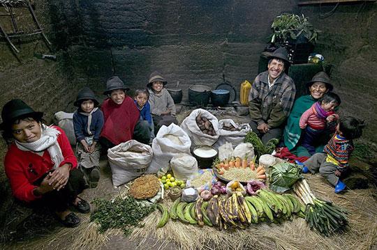 Equateur: La famille Ayme de Tingo
