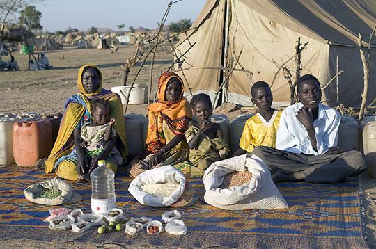 Tchad: La famille Aboubakar du camp de Breidjing