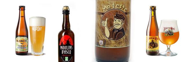 La percée des nouvelles bières bio