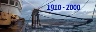 Surpêche - les stocks de poisson de 1910 à 2000