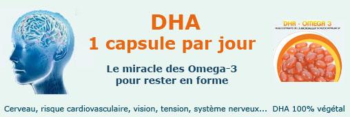 Le DHA ou les vertus de l'oméga-3 au quotidien