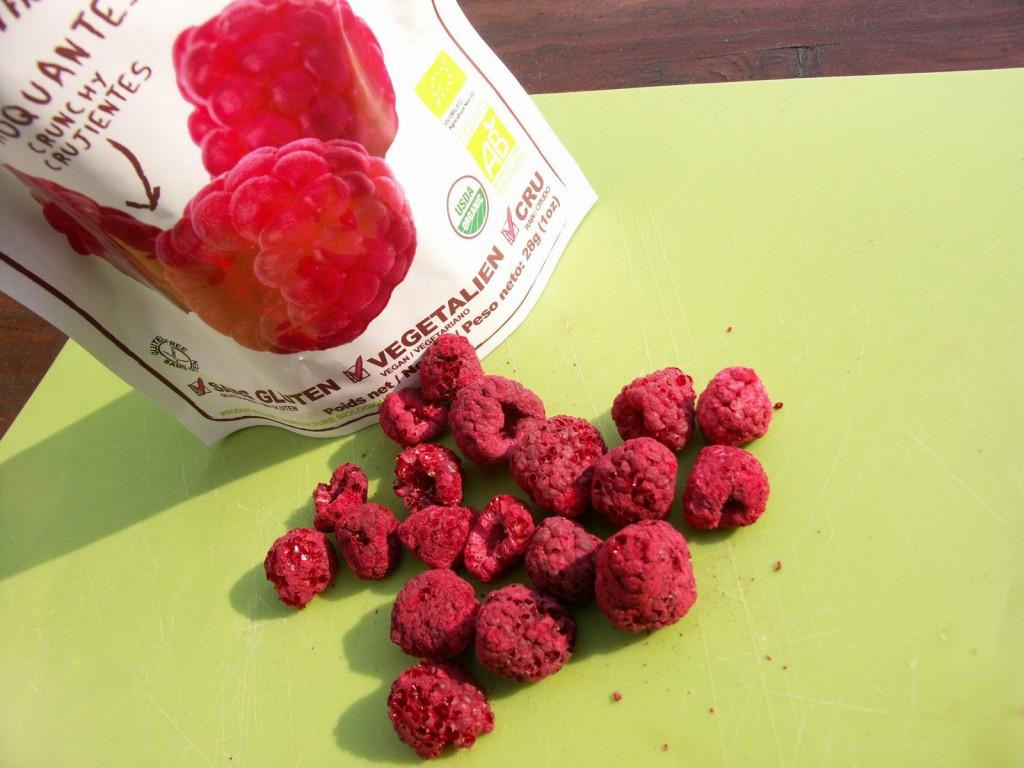 fruits lyophilisés