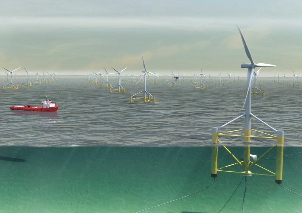 Winflo-éoliennes-flottantes
