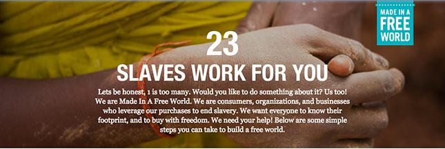 À votre avis, combien d'esclaves travaillent pour vous ?