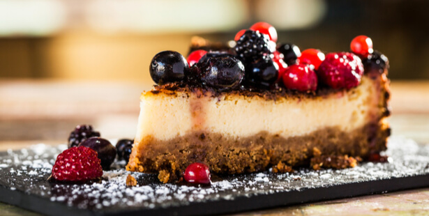 cheesecake vanille