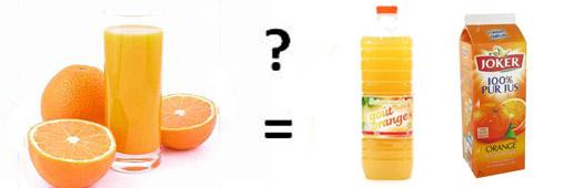 Un jus d'orange c'est combien?