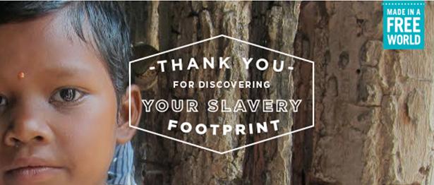 slaveryfootprint empreinte esclavage