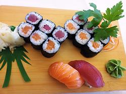 sushi-maki-alimentation-thon-saumon