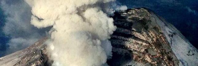 Mexique : le volcan Popocatepetl à nouveau en colère