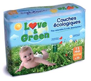 couche écologique Love & Green