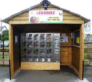 fruits et l gumes bio et local en distributeur automatique. Black Bedroom Furniture Sets. Home Design Ideas