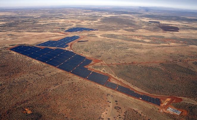Ferme solaire en Afrique