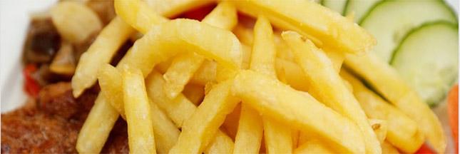 planter des pommes de terre, pommes de terre frites